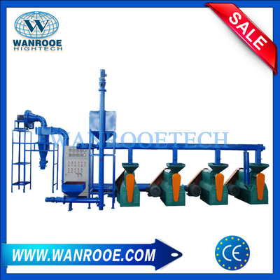Rubber pulverizer mill machine