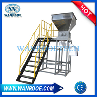 Steel Barrel Pails Metal Drum IBC Barrel Shredder Machine