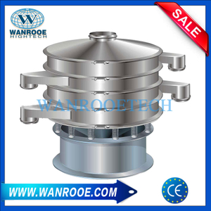 Multi-layers Plastic Powder Vibrating Sieve