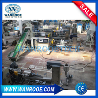 PP PE Plastic Film Water Ring Pelletizing Line