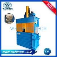 Vertical Clothes Cotton Wool Textile Baler Machine Hydraulic Baling Machine