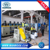 PP, PE, PC, ABS etc Regrind Material Double Stage Pelletizing Granulating Machine
