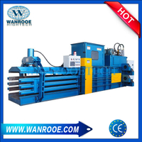 Horizontal Waste Paper Plastic Bottle Compactor